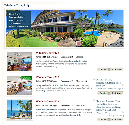GreatVacationRetreats.com