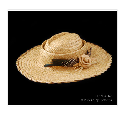 Lauhala Hat with Scalloped Brim