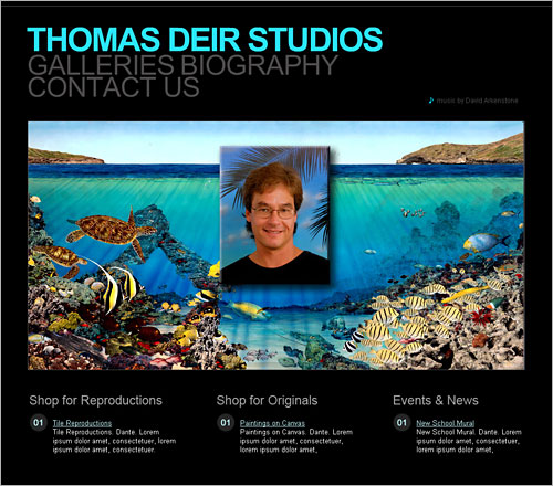 Thomas Deir, Hawaii Artist